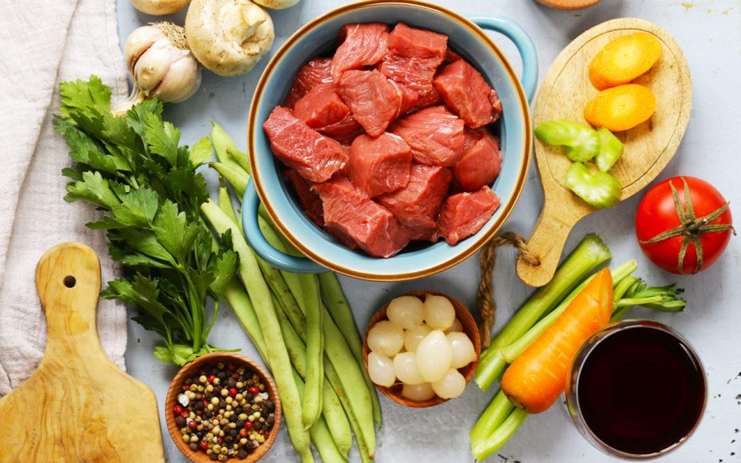 Préparation et présentation d'un repas
